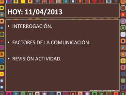 factores de la comunicacion - Liceo Bicentenario Talagante