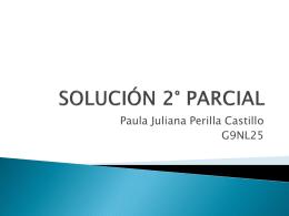 SOLUCIÓN 2° PARCIAL