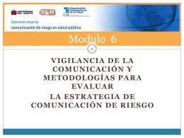 evaluación - Aula Virtual Regional. Campus Virtual de Salud Pública