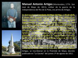 Manuel Antonio Artigas
