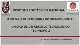 Unidad de Desarrollo Tecnológico TechnoPoli