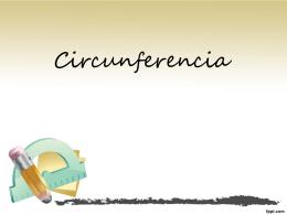 Circunferencia - Colegio SS.CC. Manquehue