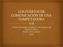los puertos de comunicación de una computadora