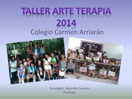 Taller Arte Terapia 2014 Colegio Carmen Arriarán