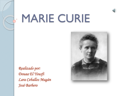 Marie Curie - WordPress.com