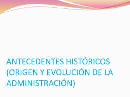 ACZ_Tema1_origen y evolucion de la