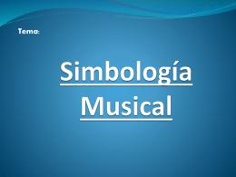 Simbología Musical - aulavirtualinbacmusicaartes