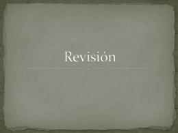 Revisión - espagnol5