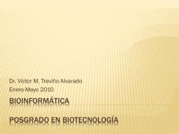 Bioinformatica Curso Presentacion