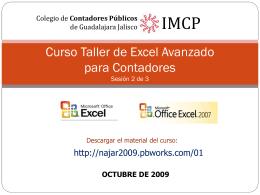 Curso Básico de Microsoft Excel para Contadores