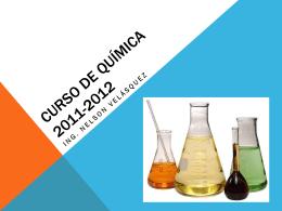 Curso de Química 2011-2012