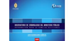 Presentación de PowerPoint - Observatorio de Criminalidad