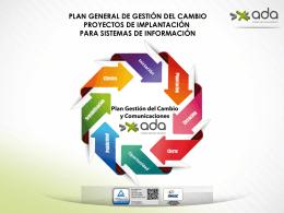 plan general de gestión del cambio proyectos de