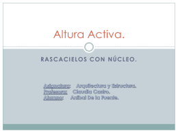 Altura Activa. - plataforma CFRD