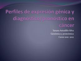 Perfiles de expresion génica y cáncer