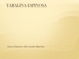 Yaralina Espinosa