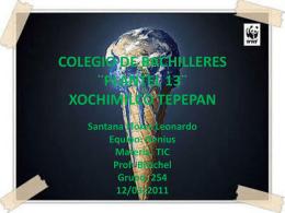 COLEGIO DE BACHILLERES ¨PLANTEL 13