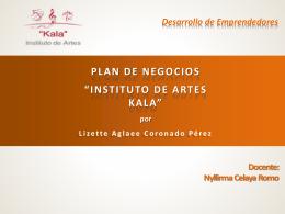 Presentacion Kala - DESARROLLODEEMPRENDEDORES