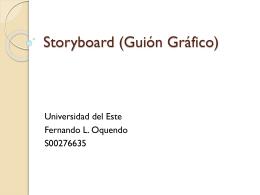 Storyboard (Guión Gráfico)