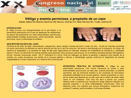 Vitíligo y anemia perniciosa, a propósito de un caso