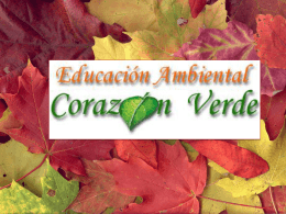 Power Point - Corazón verde
