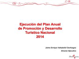 En el 2014 - Plan COPESCO Nacional