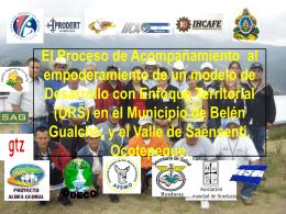 Honduras.Exposición en Encuentro Regional de GAT