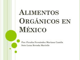 Alimentos Orgánicos en México - Investigacion-2257-2012-2