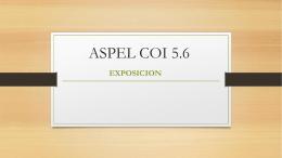 ASPEL COI 5.6