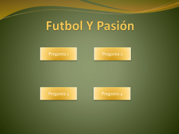 Futbol Y Pasión.