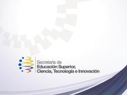 Diapositiva 1 - Ciencia y Tecnología