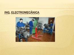 Ing. electromecánica - fundamentos-investigacion-elec