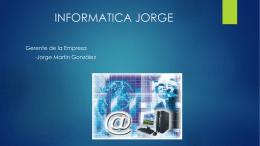 INFORMATICA JORGE