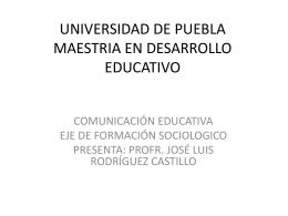 modelo V comunicacion educativa
