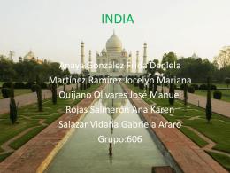 INDIA - uvmgeosexto