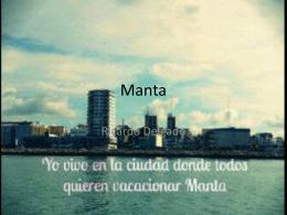 Manta - Blog de ESPOL