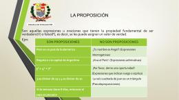Proposiciones 05-11-14