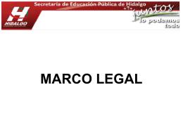 PRESENTACION MARCO LEGAL SIST EVAL