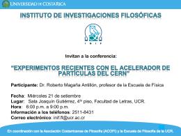 INSTITUTO DE INVESTIGACIONES FILOSÓFICAS