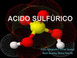 Acido Sulfrico