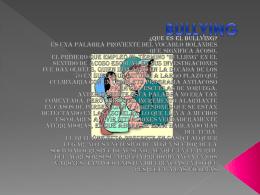 BULLYING - TIC-2-24