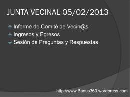 Presentacion Banus COMITE DE VECINOS 05 02