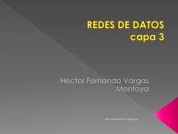 REDES DE DATOS capa 3 - IUE-Redes-de