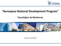 Aerospace National Development Program