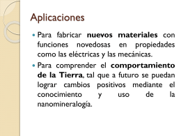 nanoAPLICACIONES - U