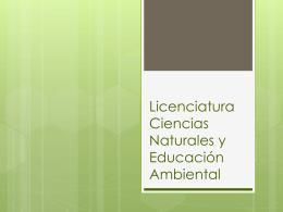Presentación de Socialización Edunaturales julio 2013