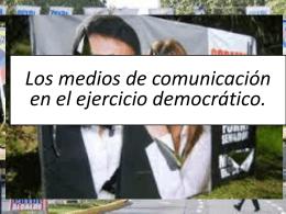 rol de los medios de comunicacion