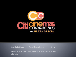 Entrevista CITICINEMAS