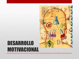 DESARROLLO MOTIVACIONAL (707634)