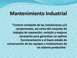 CLASES 12 DE AGOSTO 2014 - Montaje Electrico Industrial